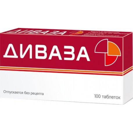 Divaza 100 tablete Nootropika, stres, uspokojenie